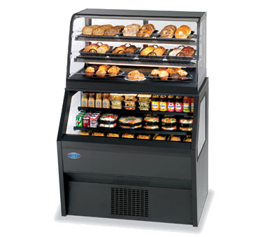 Federal Industries CD3628/RSS3SC display case, refrigerated/non-refrig