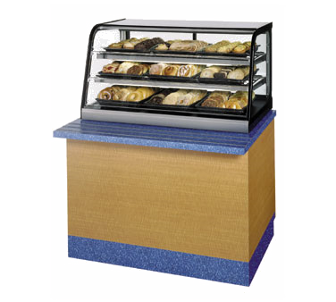 Federal Industries CD3628SS display case, non-refrigerated countertop