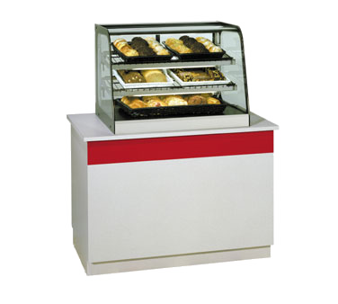 Federal Industries CD4828 display case, non-refrigerated countertop