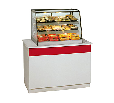 Federal Industries CH4828 display case, hot food, countertop