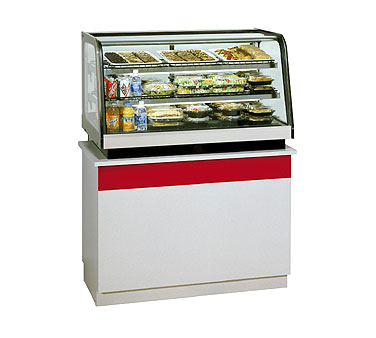 Federal Industries CRR3628 display case, refrigerated deli, countertop