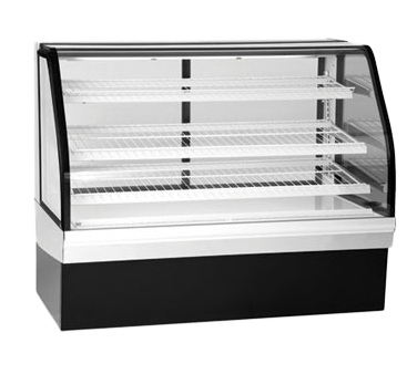 Federal Industries ECGD77 display case, non-refrigerated bakery