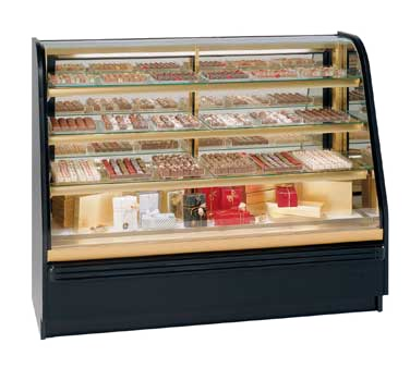 Federal Industries FCCR-6 display case, chocolate