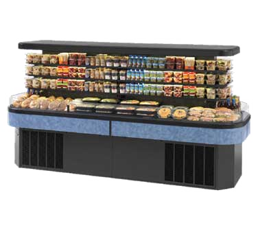 Federal Industries IMSS120SC-2 display case, refrigerated, self-serve