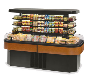 Federal Industries IMSS84SC-3 display case, refrigerated, self-serve