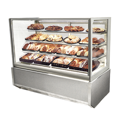 Federal Industries ITD4834-B18 display case, non-refrigerated bakery