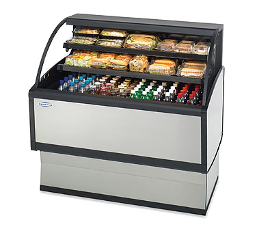 Federal Industries LPRSS6 display case, refrigerated, self-serve