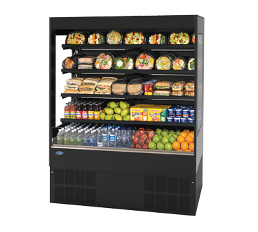 Federal Industries RSSL578SC display case, refrigerated, self-serve