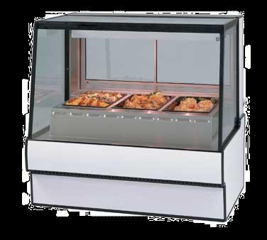 Federal Industries SG5948HD display case, heated deli, floor model