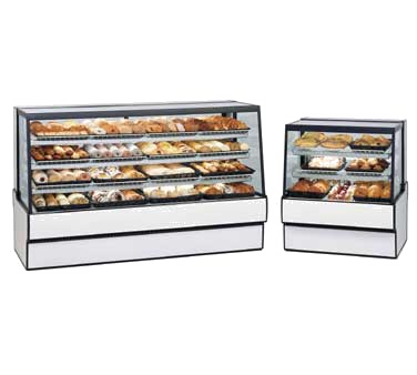 Federal Industries SGD7748 display case, non-refrigerated bakery