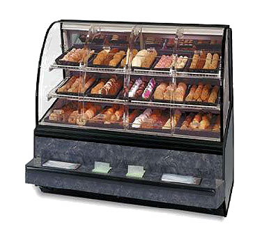 Federal Industries SN48SS display case, non-refrigerated bakery