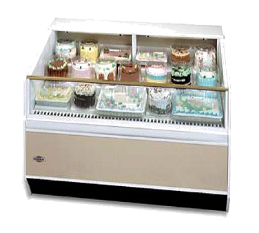 Federal Industries SN-6CD-SS display case, refrigerated, self-serve