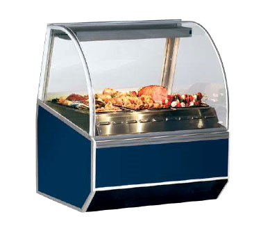 Federal Industries SN6HD display case, heated deli, floor model