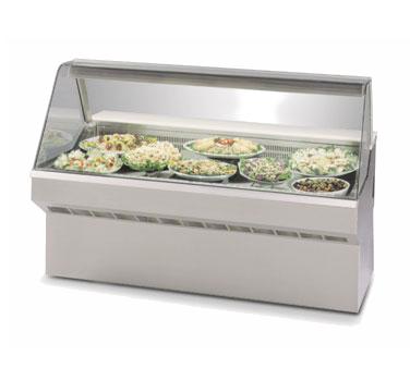 Federal Industries SQ-3CD display case, refrigerated deli