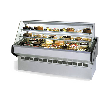 Federal Industries SQ5CB display case, refrigerated bakery