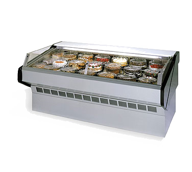 Federal Industries SQ-6CBSS display case, refrigerated, self-serve