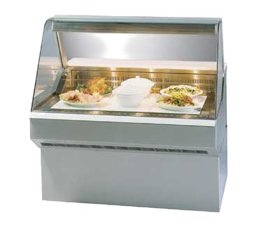 Federal Industries SQ8HD display case, heated deli, floor model