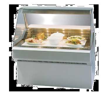 Federal Industries SQ8HD display case, heated deli, floor model