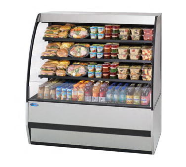Federal Industries SSRPF7752 display case, refrigerated, self-serve