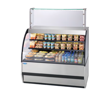 Federal Industries SSRVS3642 display case, refrigerated, self-serve