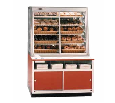 Federal Industries WDC42 display case, non-refrigerated bakery