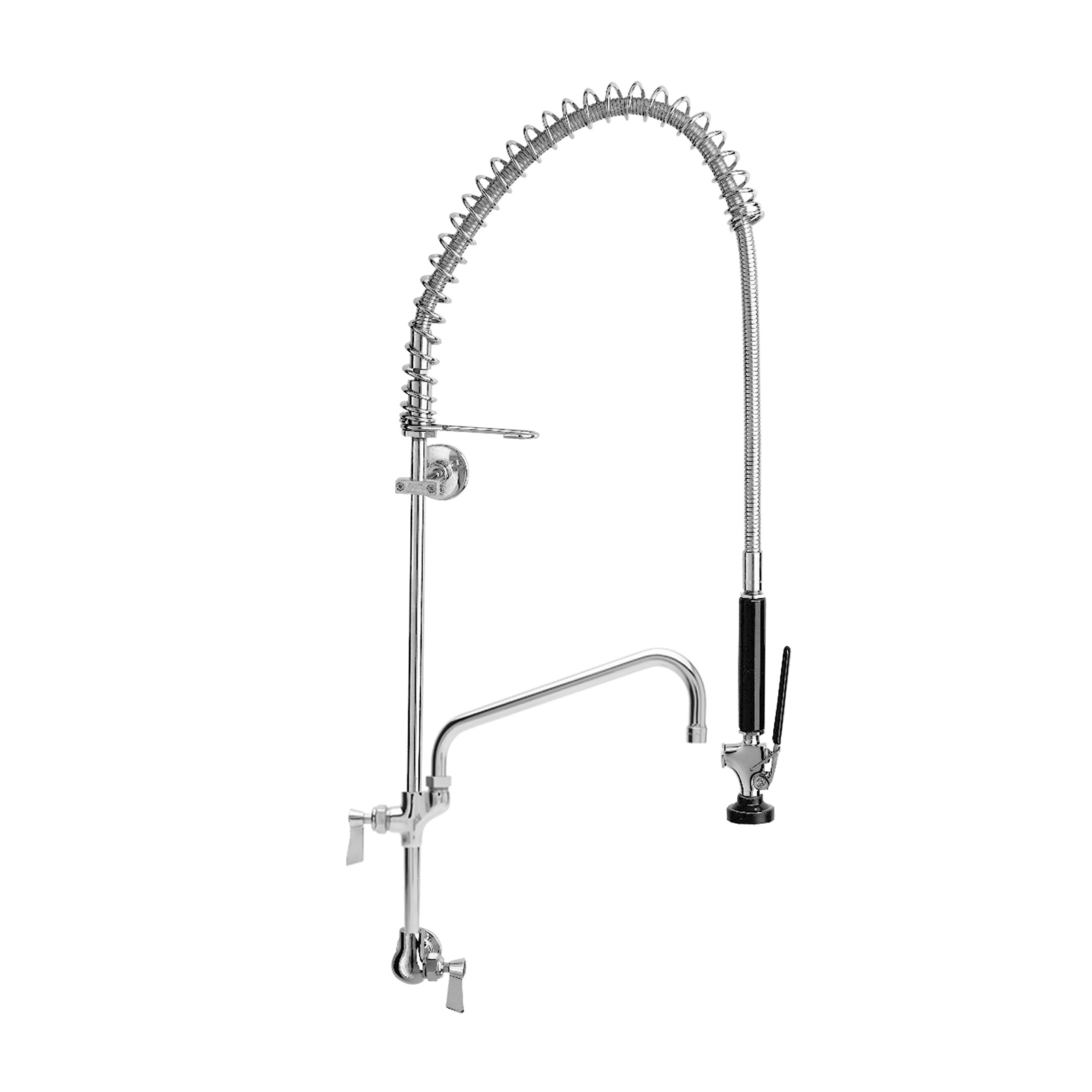 Fisher 34614 pre-rinse faucet assembly, with add on faucet