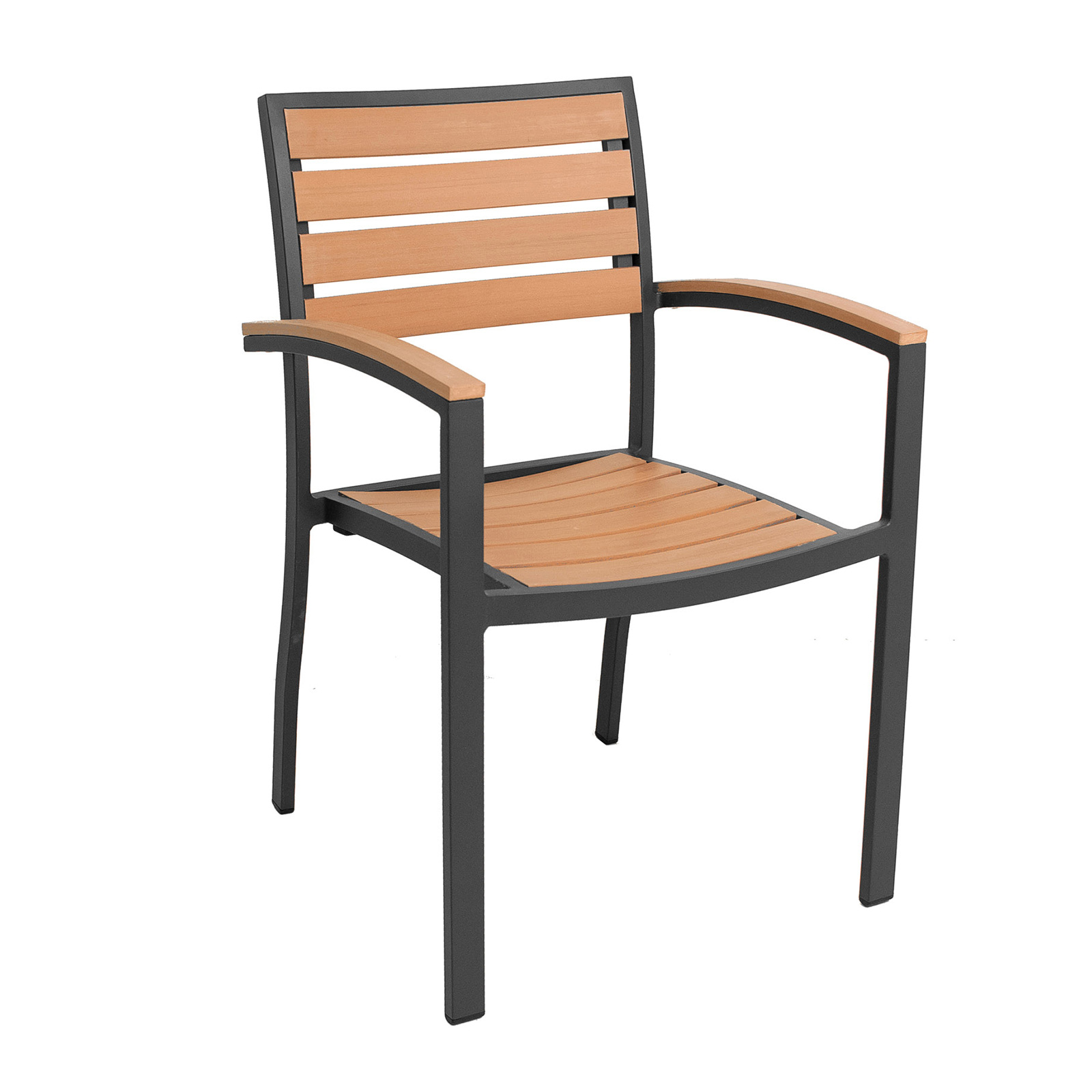 Florida Seating AL-5602 chair, armchair, stacking, outdoor