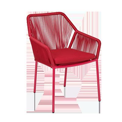 Florida Seating ARUBA chair, armchair, stacking, outdoor