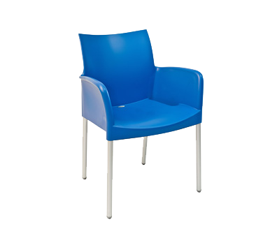 Florida Seating ICE-A/SKY chair, armchair, stacking, outdoor