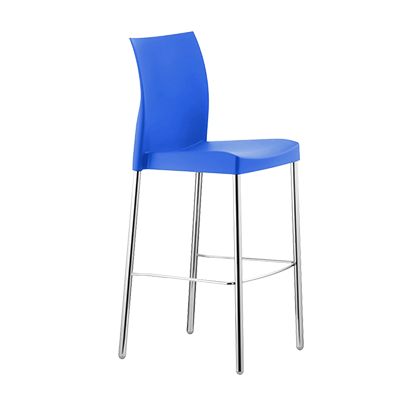 Florida Seating ICE-B/SKY bar stool, stacking, outdoor