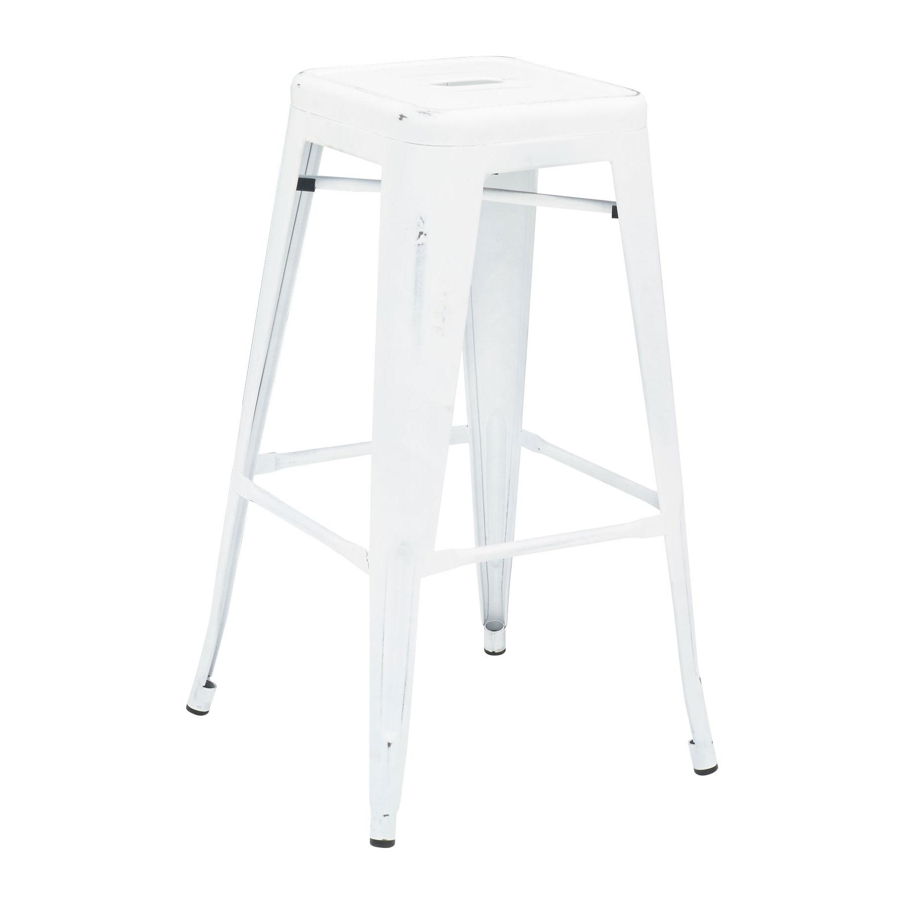 Florida Seating IND BB WHITE WASHED GR1 bar stool, indoor