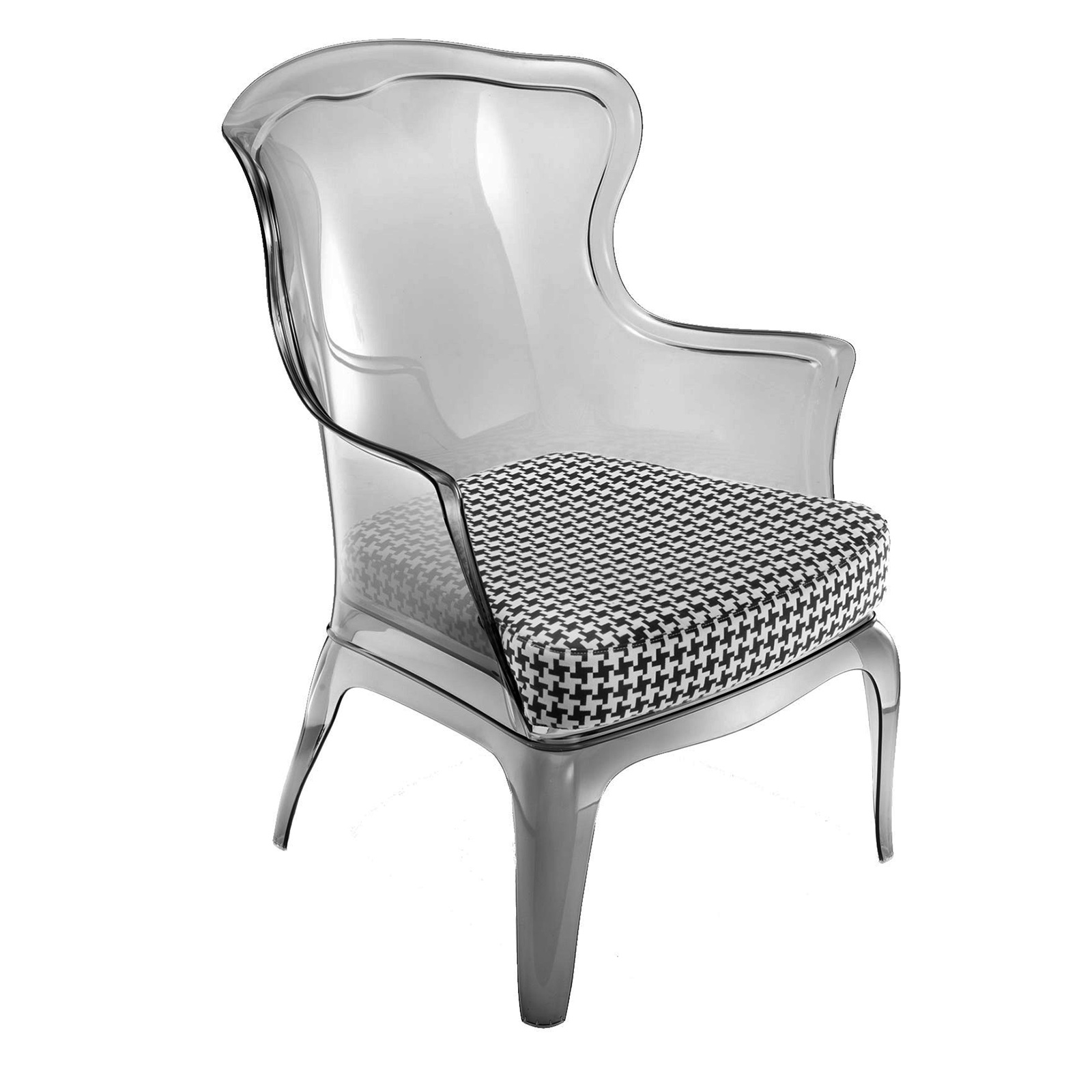 Florida Seating PASHA-SMOKE chair, armchair, outdoor