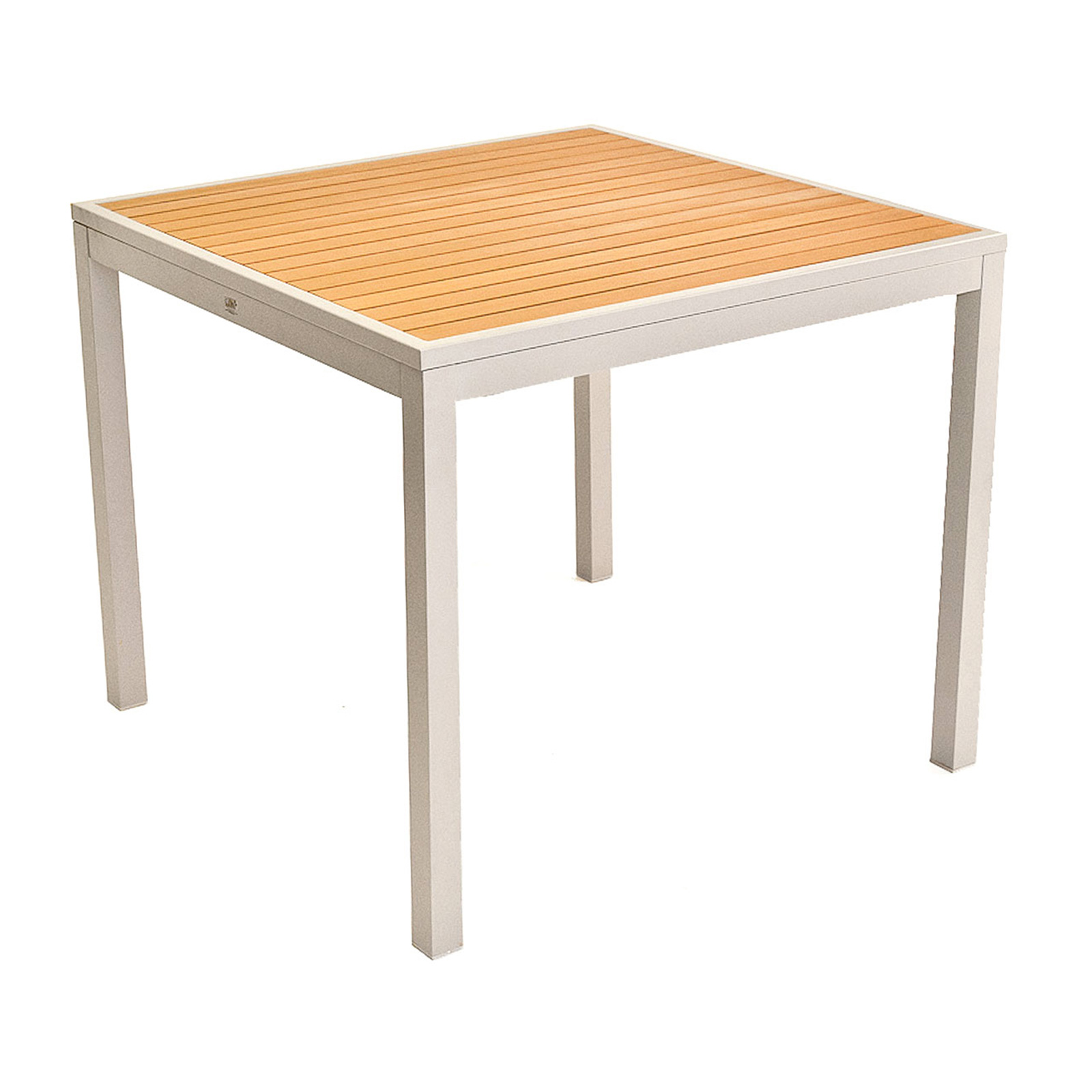 Florida Seating TEAK INLAY36X36 table, outdoor