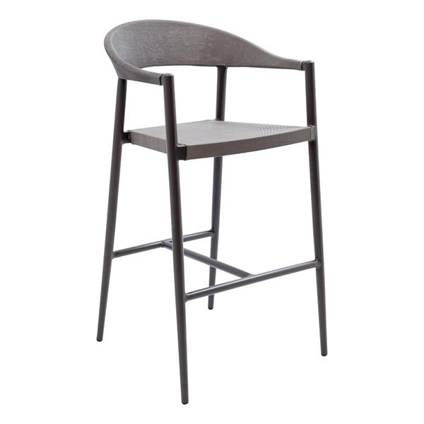 Florida Seating TEX-01B bar stool, outdoor