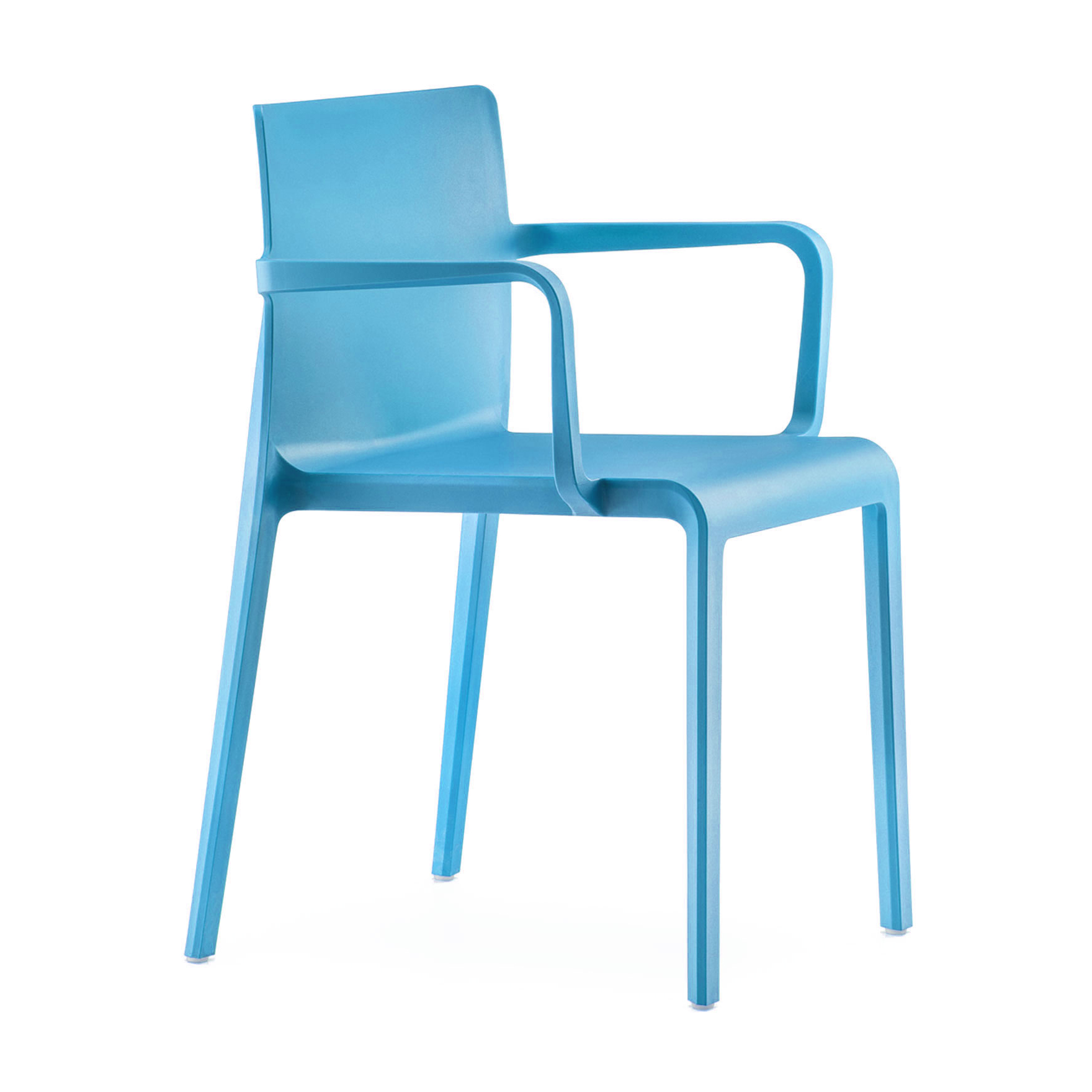 Florida Seating VOLT-A / BLUE chair, armchair, stacking, outdoor