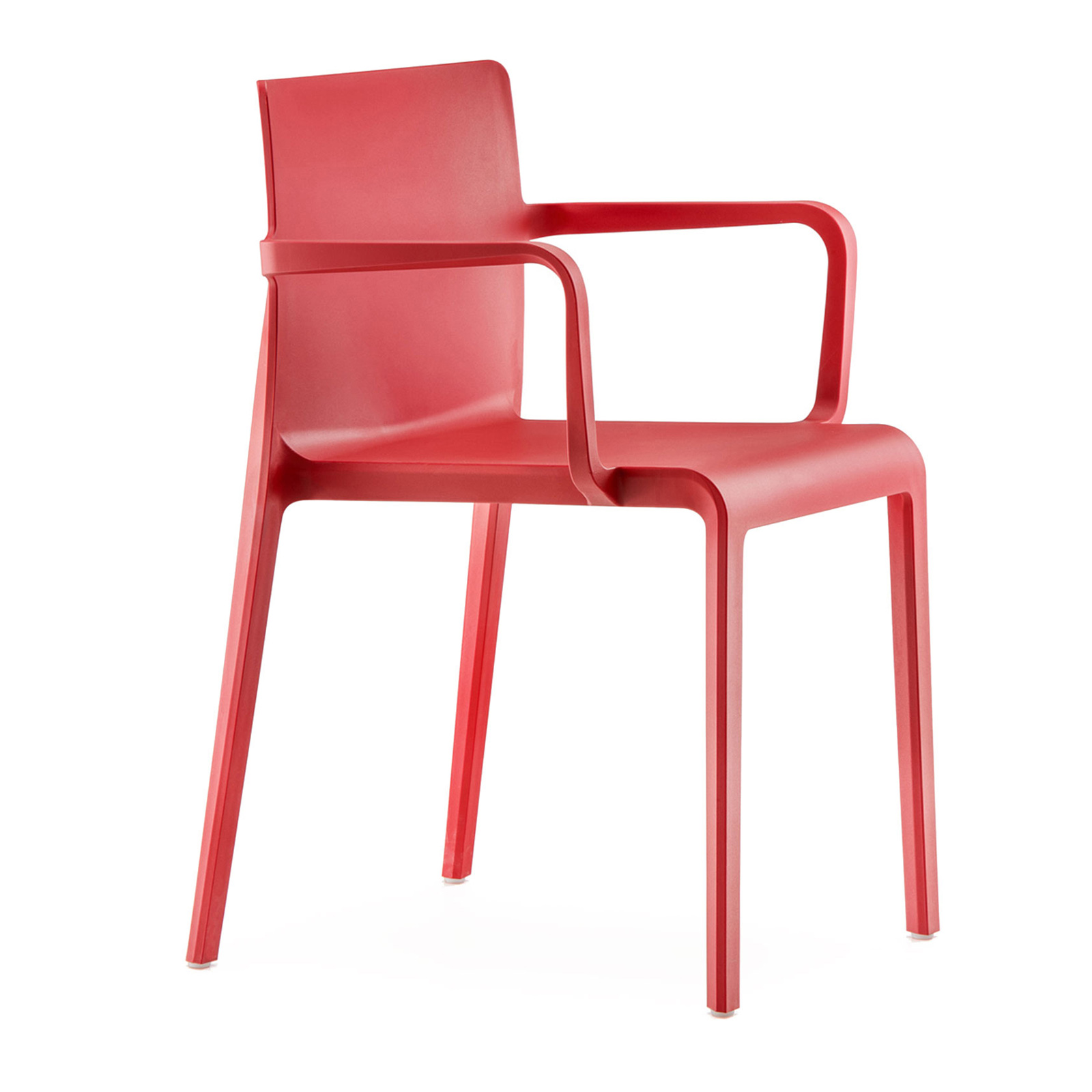 Florida Seating VOLT-A / RED chair, armchair, stacking, outdoor