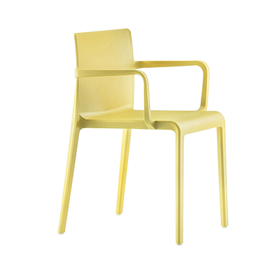 Florida Seating VOLT-A / YELLOW chair, armchair, stacking, outdoor