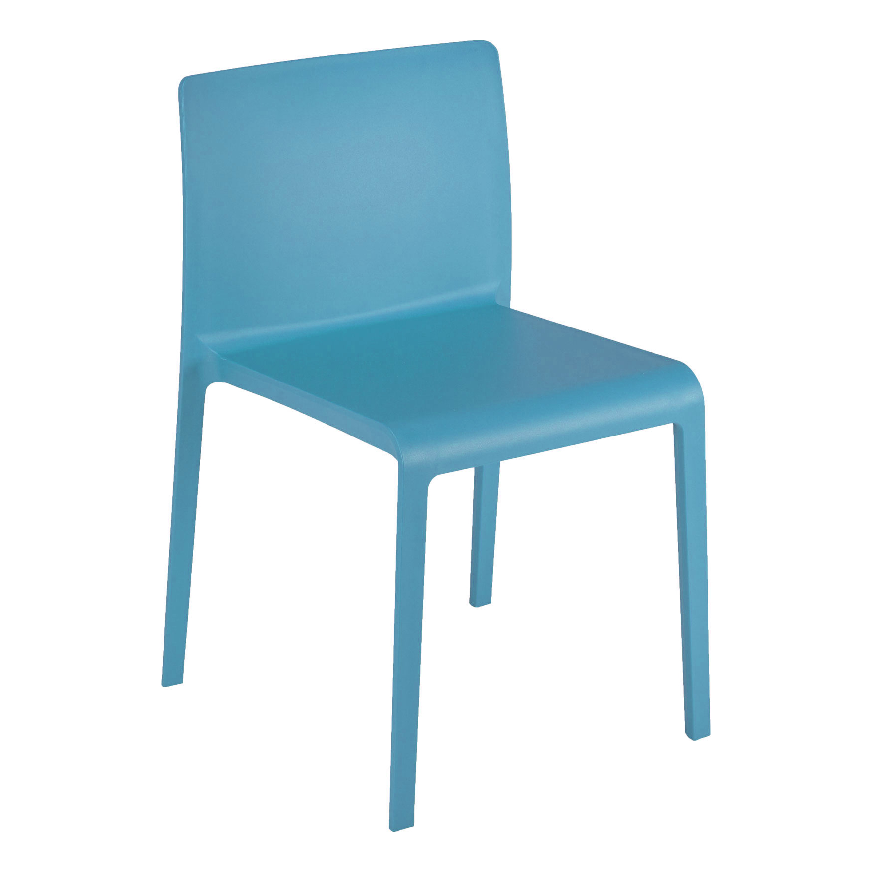 Florida Seating VOLT-S / BLUE chair, side, stacking, outdoor