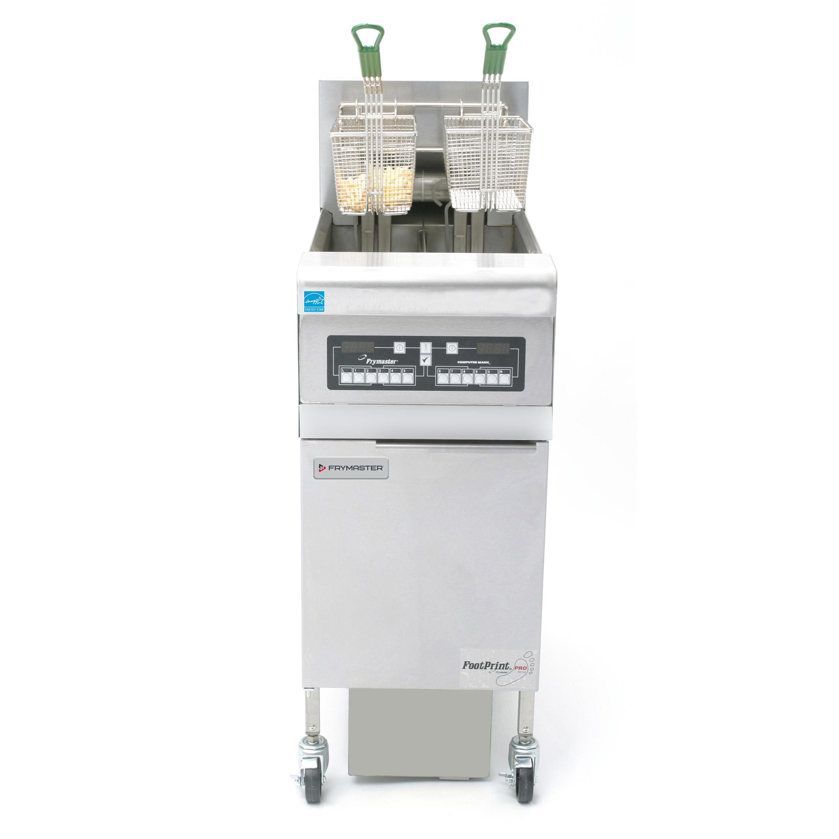Frymaster FPRE114 fryer, electric, floor model, full pot