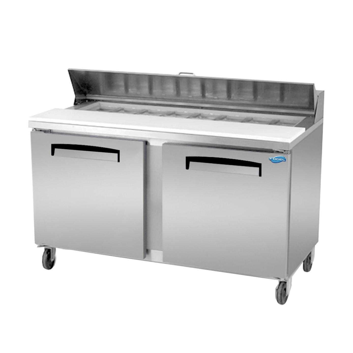 Fogel USA FLP-59-16 refrigerated counter, sandwich / salad unit