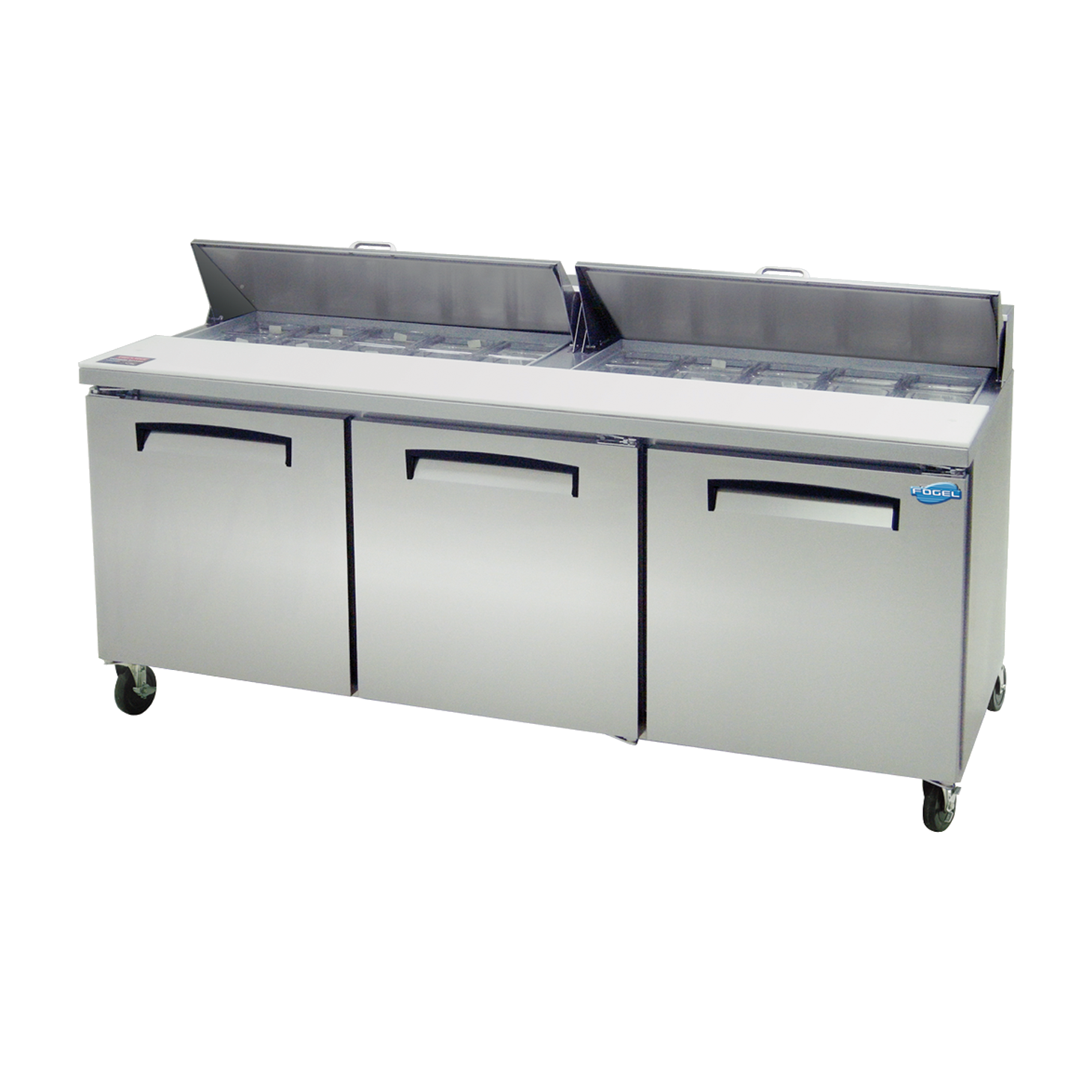 Fogel USA FLP-72-20 refrigerated counter, sandwich / salad unit
