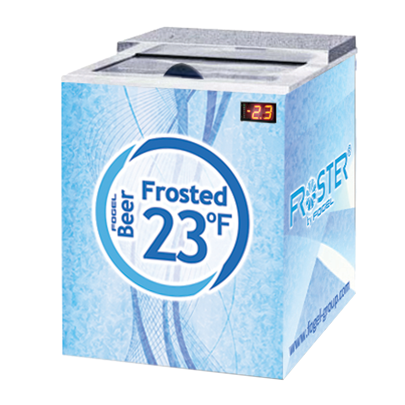 Fogel USA FROSTER-B-25-HC-B bottle cooler