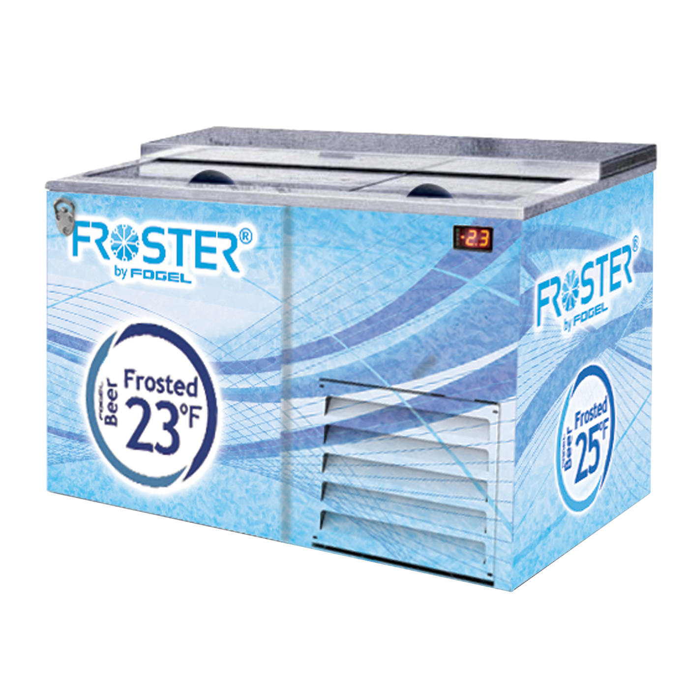 Fogel USA FROSTER-B-50-HC-B bottle cooler
