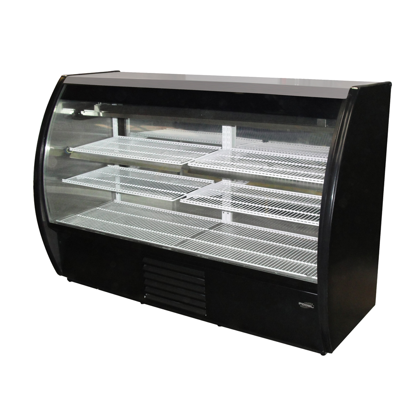 Fogel USA MIRAGE-4-DC-B display case, refrigerated deli