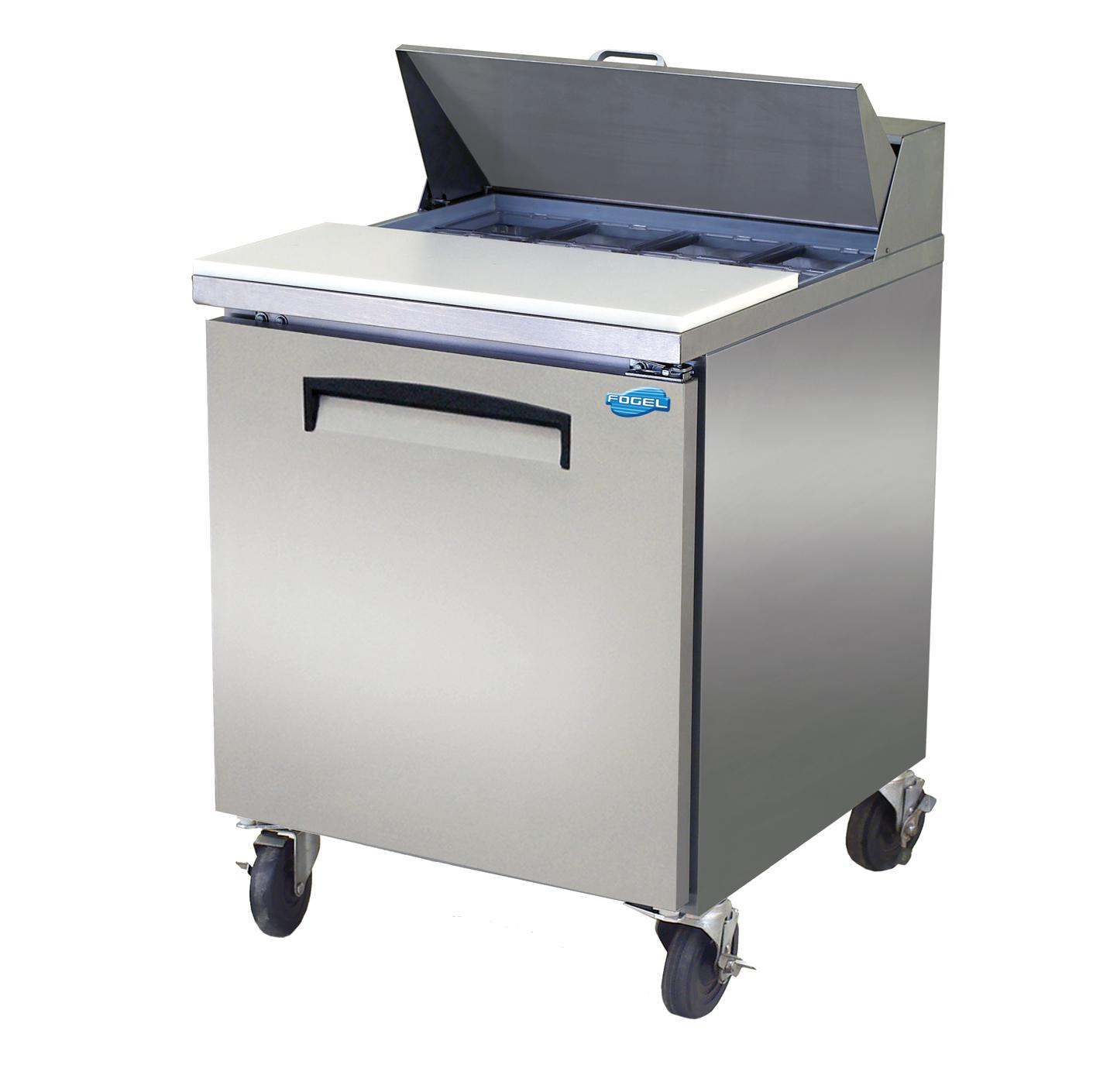Fogel USA SFLP-27-12 refrigerated counter, mega top sandwich / salad unit