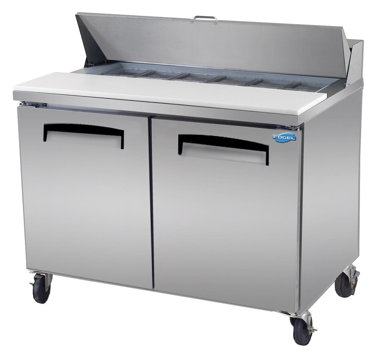 Fogel USA SFLP-45-18 refrigerated counter, mega top sandwich / salad unit
