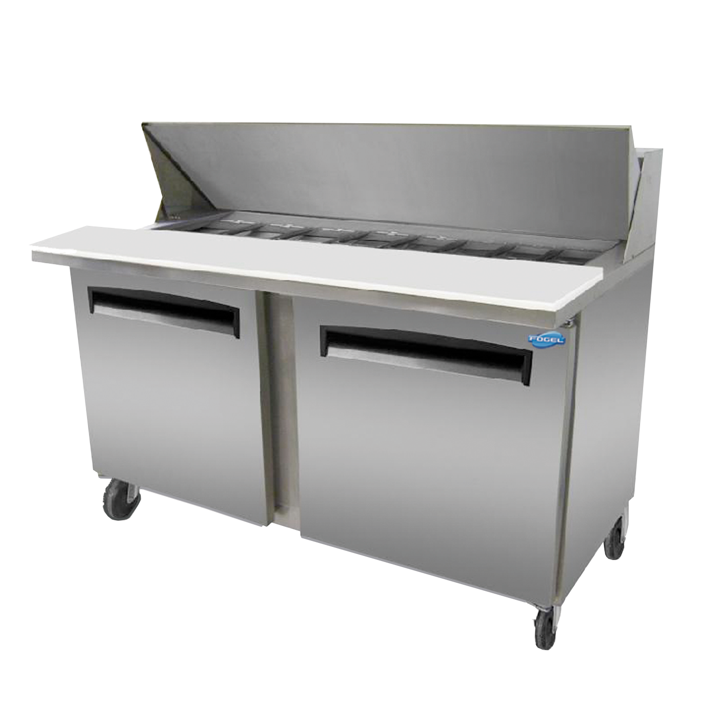 Fogel USA SFLP-59-24 refrigerated counter, mega top sandwich / salad unit