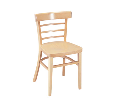 G & A Commercial Seating 1105VS chair, side, indoor