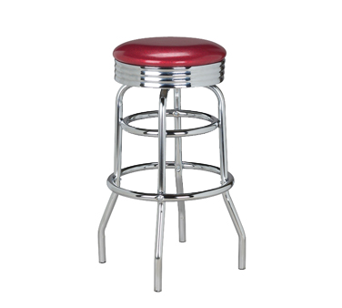G & A Commercial Seating 144 bar stool, swivel, indoor
