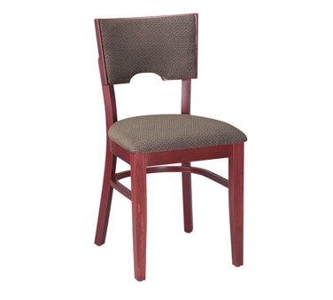 G & A Commercial Seating 3868FP chair, side, indoor